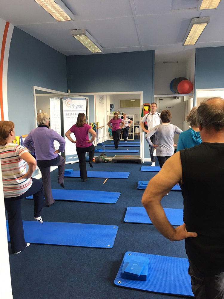 c physio Pilates class photo