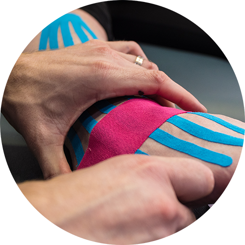 C Physio Ankle Kinesiotaping Sports Injuries