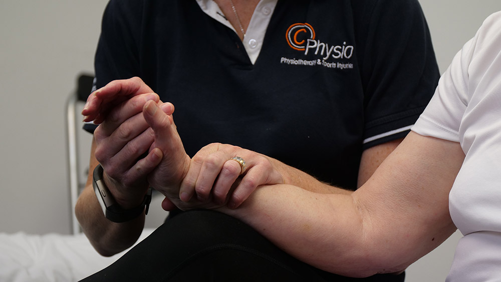 C Physio Bradford Hand Therapy Wrist Assessment